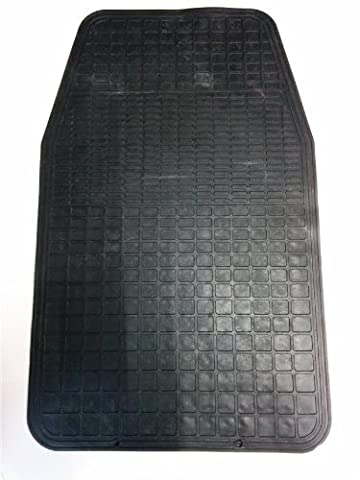 NEW BLACK CAR MAT ALL RUBBER LONG UPGRADE PROTECTOR JEEP
