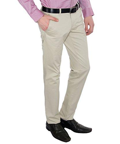 Only Vimal Men's Pistachio Slim Fit Cotton Chinos