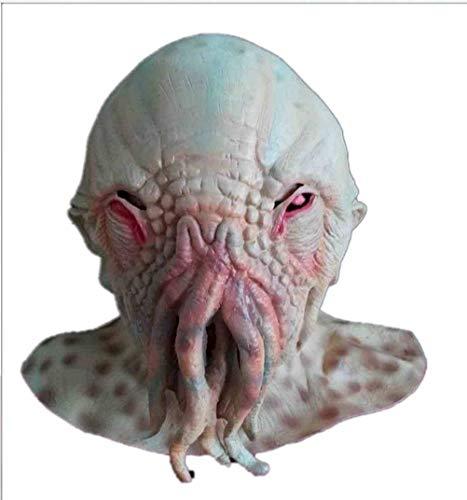 Halloween Horror Geheimnis Octopus Maske Tierkopfbedeckung Monster Alien