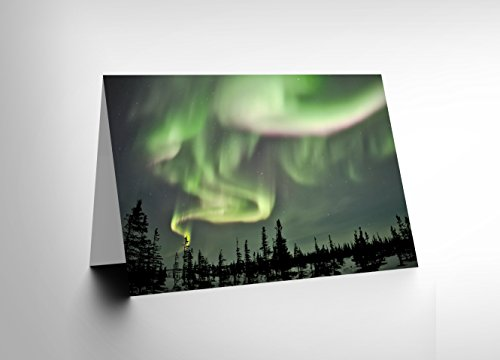 card-greeting-gift-photo-skyscape-space-northern-lights-aurora-borealis