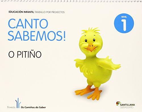 CANTO SABEMOS NIVEL 1 O PITIÑO - 9788499721699