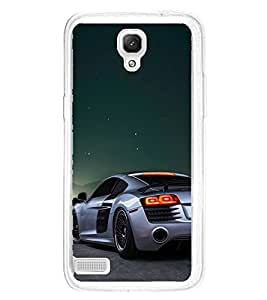 Luxury Car 2D Hard Polycarbonate Designer Back Case Cover for Xiaomi Redmi Note :: Xiaomi Redmi Note 4G