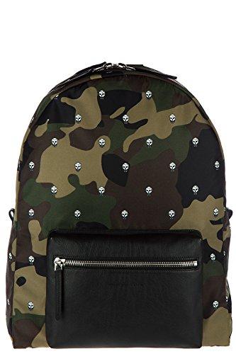 Alexander-McQueen-mens-Nylon-rucksack-backpack-travel-green