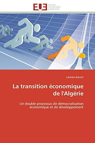 La transition économique de l'algé...