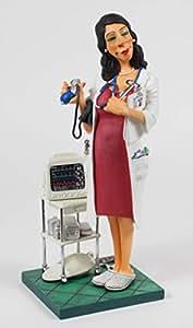 BN GUILLERMO FORCHINO COMIC MADAM DOCTOR FIGURINE 85520