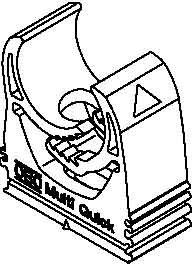 BETTERMANN Rohrschelle Quick 31mm, Kst, gr M-Quick 31-