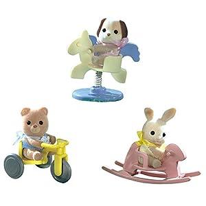 SYLVANIAN FAMILIES- Baby Carry Case Mini Muñecas y Accesorios, (Epoch 4391B)