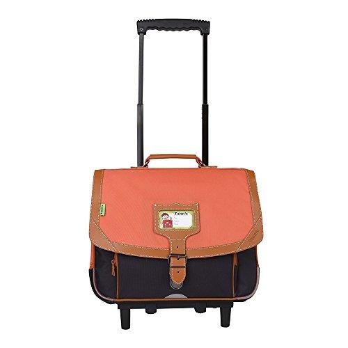 Trolley 38 Orange-Gris Tann's ICONIC