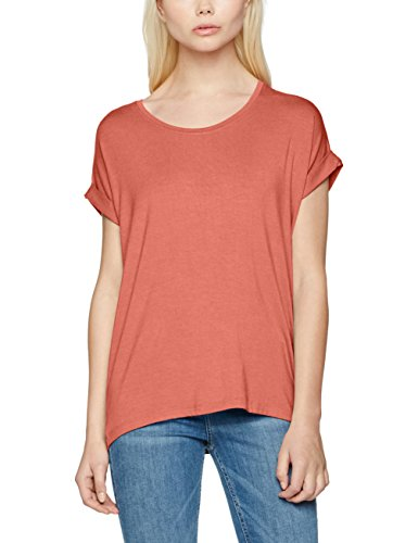 ONLY Damen T-Shirt Onlmoster S/S O-Neck Top Noos JRS, Rosa (Withered Rose Withered Rose),  Preisvergleich