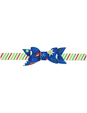 Zhhlaixing Kids Baby Girls Toddler Christmas Tree Prints Headband Hairband Flower Hair Accessories for Christmas...