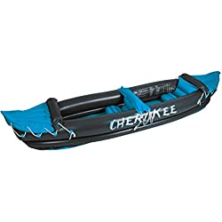 Waimea 2Personnes Gonflable Cherokee canoë uni Anthrazit Aqua Weiß