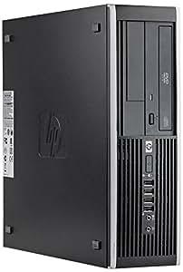 HP Compaq 6000 Pro SFF Desktop-PC (Intel Pentium Dual Core, 250GB HDD Festplatte, 4GB RAM, Windows 10 Home) Anthrazit (Zertifiziert und Generalüberholt)