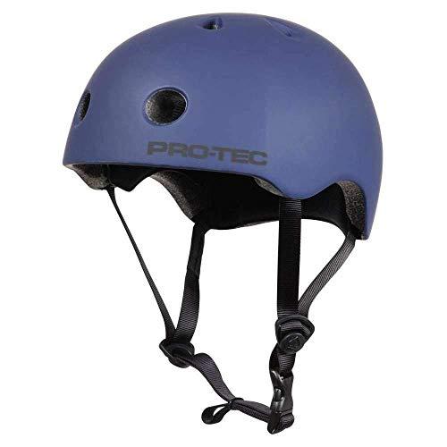 Pro-Tec Unisex Helmet Classic Certified PRT-PHE-909 L Matte Blue