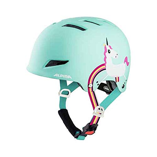 Alpina BMX Street Fahrradhelm Park Junior Mint Unicorn 51-55 cm 2019