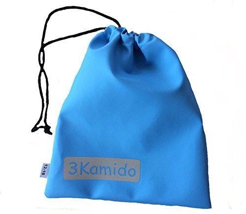 3Kamido® Vadeadores Cangrejo para niños Impermeables Monos de iluvia cosytoes Sacos a Prueba de Viento Niños 5