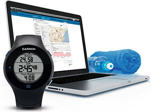Garmin Forerunner 610 GPS-Laufuhr (Geschwindigkeits-/Streckenmessung, Touchscreen Bedienung) - 8