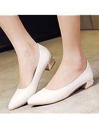GAOLIM En El Verano La Chica Sugerencia Pro Singles Femeninos Zapatos Zapatos Parte con Negrita Luz Blanca con...