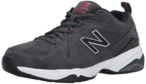 New Balance Men's MX608V4 Training Shoe,Black,10 D US Dark Grey
