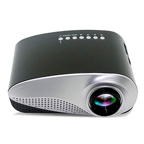 Mini proiettore, Videoproiettore Portatile Home Cinema a LED Proiettore Portatile con interfaccia HDMI TV (Colore : Bianca)