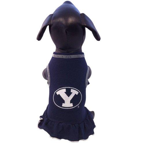 NCAA Brigham (Young Universität Cougar Collegiate Cheerleader Hund Kleid (xx-small) -
