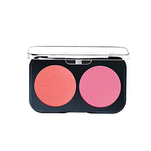 Vovotrade Blush Ventes de nouveaux produits 2Couleurs Lisse Maquillage Contour Face Poudre Crème Palette 1PC Imperméable Durable Éclaircissant Pore Multicolore Nude Lumineux Naturel Léger Blush