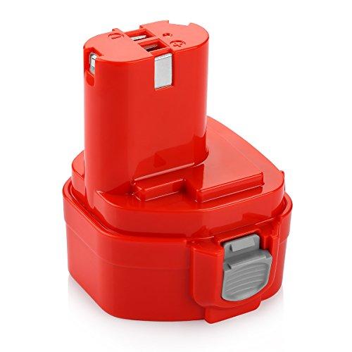 POWER-XWT 12V 3,0 Ah NiMH Batteria Ricambio per Makita Batteria 1220 1222 PA12 1233S 1234 1233 1235 1235B 1235F 192696-2 192698-8 192698-A 193138-9 193157-5 Batteria per utensili Makita