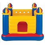 لعبة القفز قابلة للنفخ على شكل قلعة لينة وآمنة للأطفال، انتكس 48259