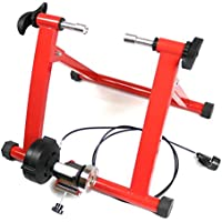 Ergolynx Red Cycling Fitness Turbo Trainer Cycle Indoor Exercise Magnetic Resistance