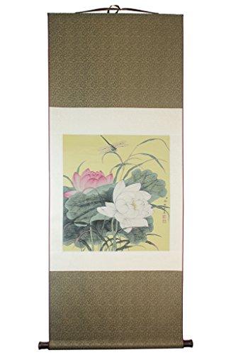 Meqiero China, handgefertigt, Gobelin-Stickerei, Innen Dekoration, Seide, lotus, historische treasures Figur