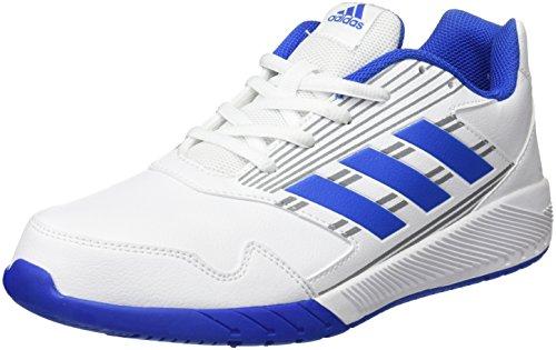 adidas Altarun K, Chaussures de Gymnastique Mixte enfant Multicolore (Ftwr White/blue/mid Grey S14)