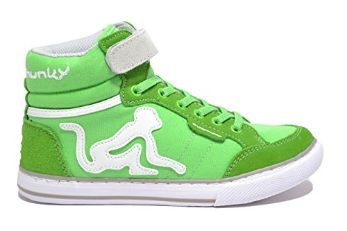 DrunknMunky M盲dchen Boston Classic Tennisschuhe LIGHT GREEN GRAY