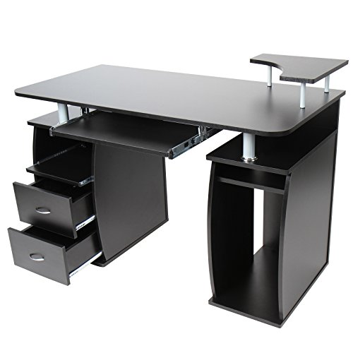 sale schreibtisch computertisch brotisch mit. Black Bedroom Furniture Sets. Home Design Ideas