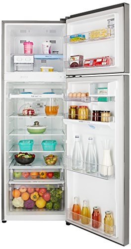 LG 360 L 4 Star Frost-Free Double Door Refrigerator (GL-U402JPZX, Shiny Steel)