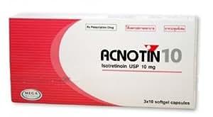Acnotin 10 mg.(roaccutane) treatment for acne. +Free Shipping World Wide