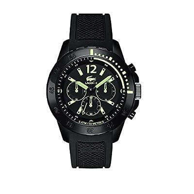 Lacoste 2010740 - Reloj para hombres color negro de Lacoste
