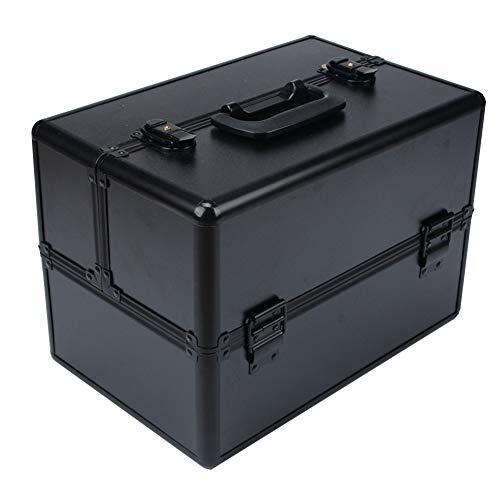 Professional portable multi-couche beauté salon outils de beauté boîte de rangement portable cosmétique Box Leopard,2