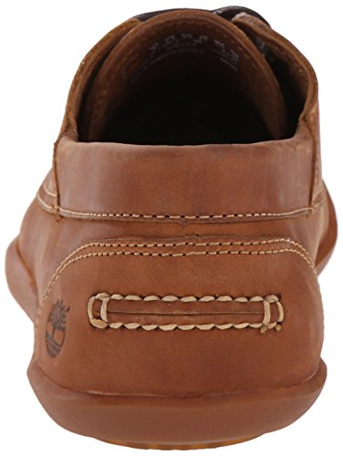 Timberland Odelay Camp Boat Shoes Man Marron Jeu De Belle