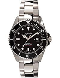 amazon co uk diving sports watch store watches gigandet sea ground automatic men s analogue diver watch black silver g2