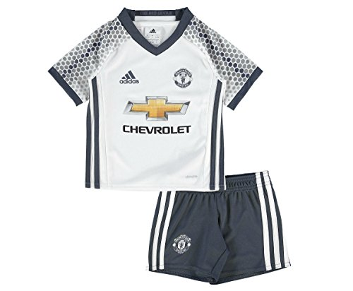 0c26d3c997c adidas MUFC 3 MINI - 3rd football kit Outfit ofManchester United 2015 16  for Unisex Children