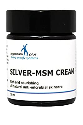 argentum plus - Silver-MSM Cream 30 ml from Living Energy Systems Ltd.