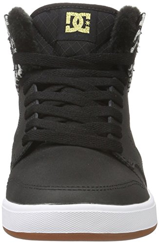 DC Shoes Damen Argosy Sneakers Schwarz (Black/gold - BG3)