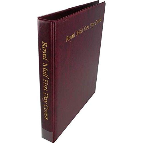 Royal Mail groß Cover Album erster Tag & 15Blätter-Stempel Album -