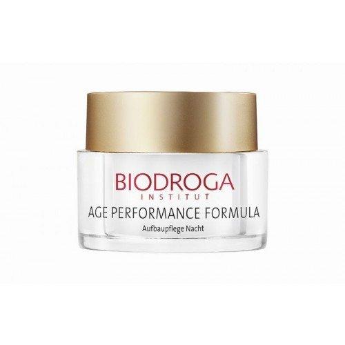 Biodroga -Age Performance Formula Aufbaupflege Nacht Aufbaupflege Nacht für reife Haut - 50 ml