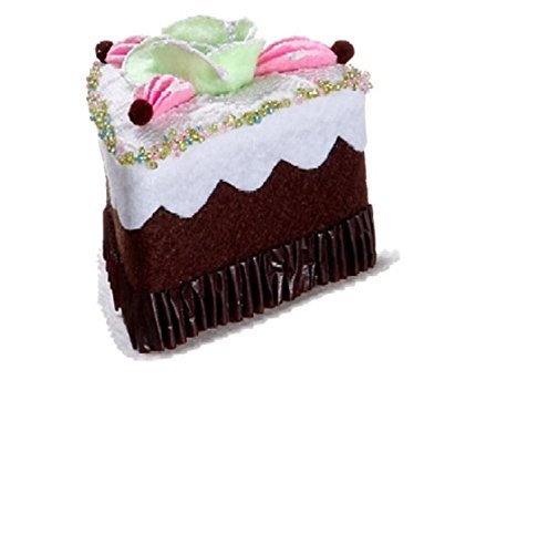 allstate-cupcake-heaven-sliced-chocolate-cake-with-flower-christmas-ornament-3-by-allstate