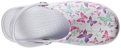 Multicolore Di Scarpe Stampa Oden multicolore Le Adulti Rosa Lavoro Congiunto Per 22 Suecos® qwHAO