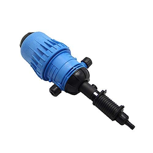 WooBrit 0.4{5af1a01c39d7f2020d81f9429012bcdc421655264cb6b1bc050e930504283a63}-4{5af1a01c39d7f2020d81f9429012bcdc421655264cb6b1bc050e930504283a63} Fertilizer Injector Dispenser Hydraulic Maschine, Wasser Leistung Fließen Dosierung Anteil Chemisch Pumpe Gerät für Tierhaltung/Industrie/Landwirtschaft (25mm)
