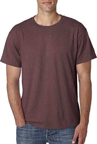 JerzeesHerren T-Shirt Rouge - Vintage Heather Maroon