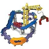 Tomy LC54241 - Juego para construir aventuras de brewster (4 configuraciones, grua giratoria, elevadores), multicolor