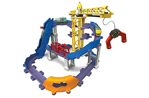 Tomy Chuggington - LC54241 - Circuit de Trains Miniatures et Rails - Grande Construction de Bruno