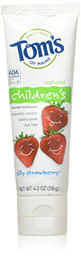 Tom's of Maine - Natural Toothpaste Children's With Fluoride Silly Strawberry - 4.2 oz.